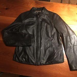 Wilson's leather jacket. Women's large